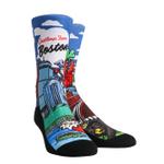 Boston Landmark Crew Comfortable Funny Cute Unique Socks