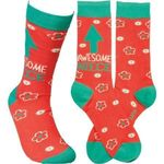 """""""Awesome Niece"""" Socks - One Size Gift Ideas For Men Women Comfortable Funny Unique Socks"""
