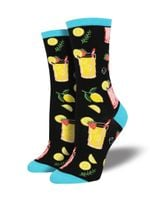 "Women's ""Easy Peasy, Lemon Squeezy"" Socks Comfortable Funny Cute Unique Socks"