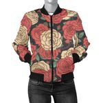 Vintage Camellia Pattern 3D Printed Unisex Jacket