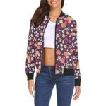 Cute Daisy Colorful Pattern 3D Printed Unisex Jacket