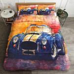 Classic Car Vintage 3D Bedding Set Bedroom Decor