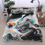 Abstract Marble Printed Bedding Set Bedroom Decor