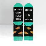 Bring Me Tacos Socks Lovely Birthday Gift For Men Women Comfortable Unique Socks
