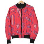 Pink Skateboard For Sport Lover Pattern 3D Printed Unisex Jacket