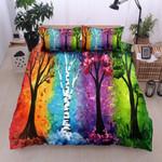 Color Tree 3D Bedding Set Bedroom Decor