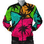 Palm Tree Beach Pattern Hot Summer 3D Printed Unisex Jacket