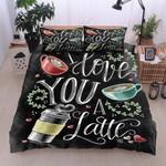 Love A Latte Bedding Set Bedroom Decor