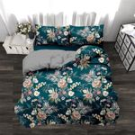 Tropical Floral Green 3D Bedding Set Bedroom Decor