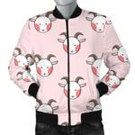 Cute Goat Head 3D Printed Unisex Jacket