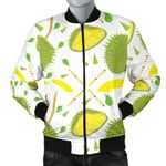 Durian Pattern Background 3D Printed Unisex Jacket