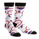 Penalty Shot For Men Women Funny Cute Unique Socks