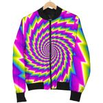 Abstract Twisted Moving Optical Illusion  3D Printed Unisex Jacket