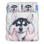 Fun Husky  Printed Bedding Set Bedroom Decor