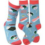 Sushi-holic Sock Lovely Birthday Gift For Men Women Comfortable Unique Socks