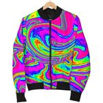 Abstract Psychedelic Liquid Trippy 3D Printed Unisex Jacket