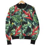 Banana Leaf Hawaiian Pattern 3D Printed Unisex Jacket