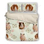 Cute Guinea Pig Printed Bedding Set Bedroom Decor