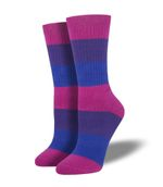 Bi Pride Socks Gift Ideas For Men Women Funny Unique Socks