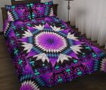 Morning Purple Starfire Printed Bedding Set Bedroom Decor