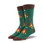 Campfire Lovely Birthday Gift For Men Women Comfortable Unique Socks