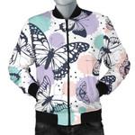 Butterfly Watercolor Pattern 3D Printed Unisex Jacket