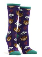 Women's Moody Cat Socks Comfortable Funny Cute Unique Socks