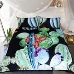 Cactus I'm Looking Sharp Printed Bedding Set Bedroom Decor