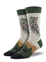 """AtomicChild """"Golden State"""" Socks Lovely Birthday Gift For Men Women Comfortable Unique Socks"""