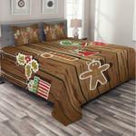 Christmas Things Wood 3D Bedding Set Bedroom Decor