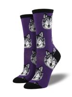 "Women's ""Wolf"" Socks Comfortable Funny Cute Unique Socks"