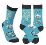 """Look Engaged"" Socks Lovely Birthday Gift For Men Women Comfortable Unique Socks"