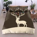 Deer Universe Brown 3D Bedding Set Bedroom Decor