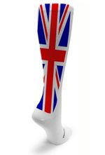 White OTC United Kingdom Comfortable Cute Funny Unique Unisex Socks