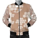 Beautiful Hexagon Japanese  Pattern 3D Printed Unisex Jacket