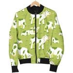 Cute Smiley Cow Pattern  3D Printed Unisex Jacket