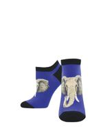 "Women's ""Elephant Of Surprise"" Ped Socks Comfortable Funny Cute Unique Socks"
