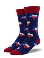"""Men's """"Texas"""" Socks Comfortable Funny Cute Unique Socks"""