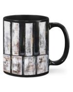 Old Pianist Gift For Mom Or Dad Printed Mug Mug