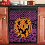 Night Pumpkin Dishwasher Cover Sticker Kitchen Decor