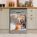 Rough Collie Date Day Dishwasher Cover Sticker Kitchen Decor
