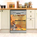 Pitbull To Beloved Children Never Lose Dishwasher Cover Sticker Kitchen Decoration