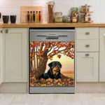 Rottweiler Reflections Dishwasher Cover Sticker Kitchen Decor