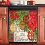 Merry Christmas Decoration Dishwasher Cover Sticker Kitchen Decor