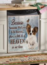 Papillon Heaven Dishwasher Cover Sticker Kitchen Decor