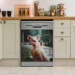 Mirror Pig I Am Beautiful Dishwasher Cover Sticker Kitchen Decor