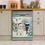 Old English Sheepdog Mail For Santa Dishwasher Cover Sticker Kitchen Decor