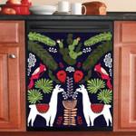 Llama Tropical Dishwasher Cover Sticker Kitchen Decor