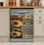 My Only Sunshine To Mom Dishwasher Cover Sticker Kitchen Decor