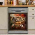Owl Dreamcatcher Dishwasher Cover Sticker Kitchen Decor